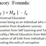 Universal Education Theory innovated by Rejaul Abedin, PhD